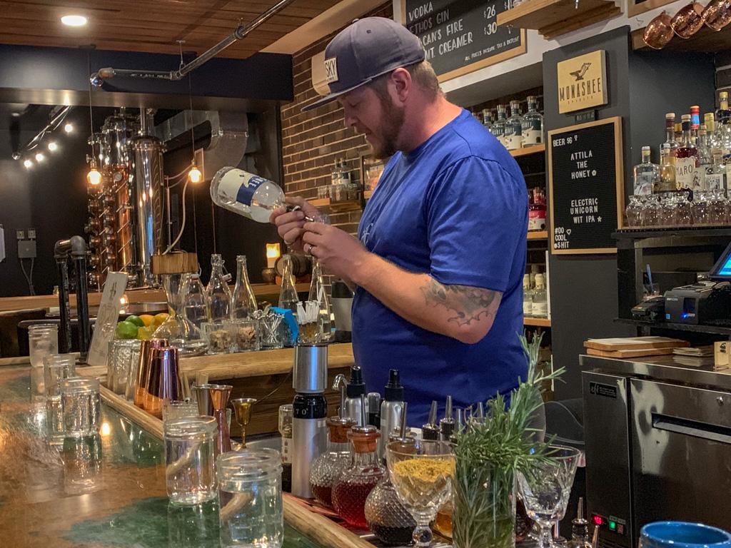 Monashee Distilling in Revelstoke, BC