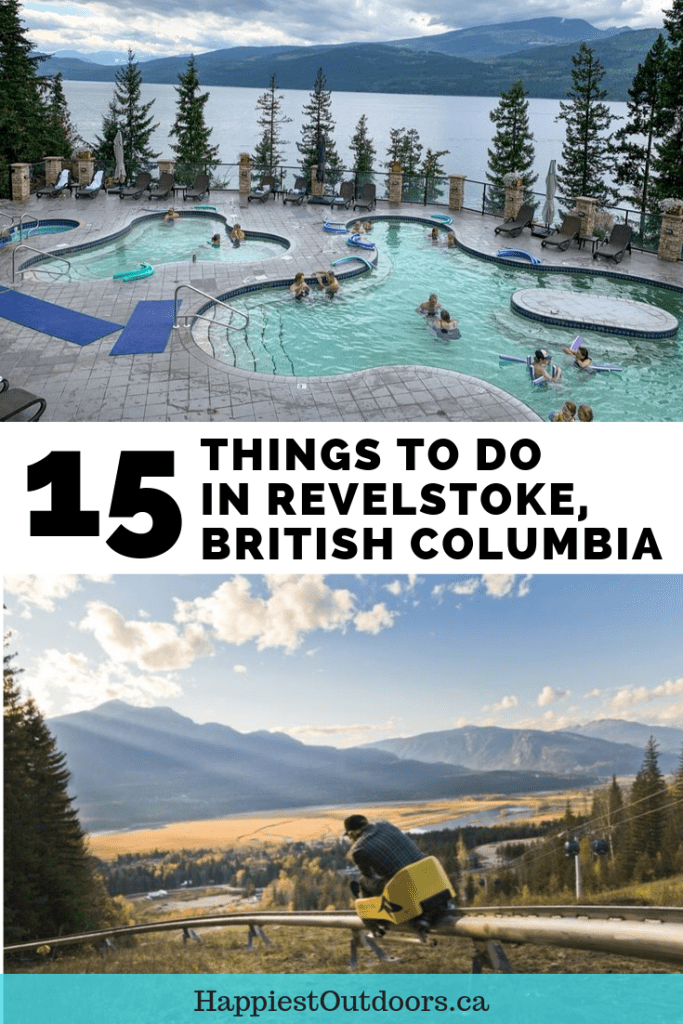 15 things to do in Revelstoke, British Columbia. What to do in Revelstoke? Hiking, mountain biking, restaurants, craft beer, distilleries, paragliding and more. Revelstoke is an outdoor adventure lovers paradise in the Canadian mountains. #Revelstoke #Canada #British Columbia