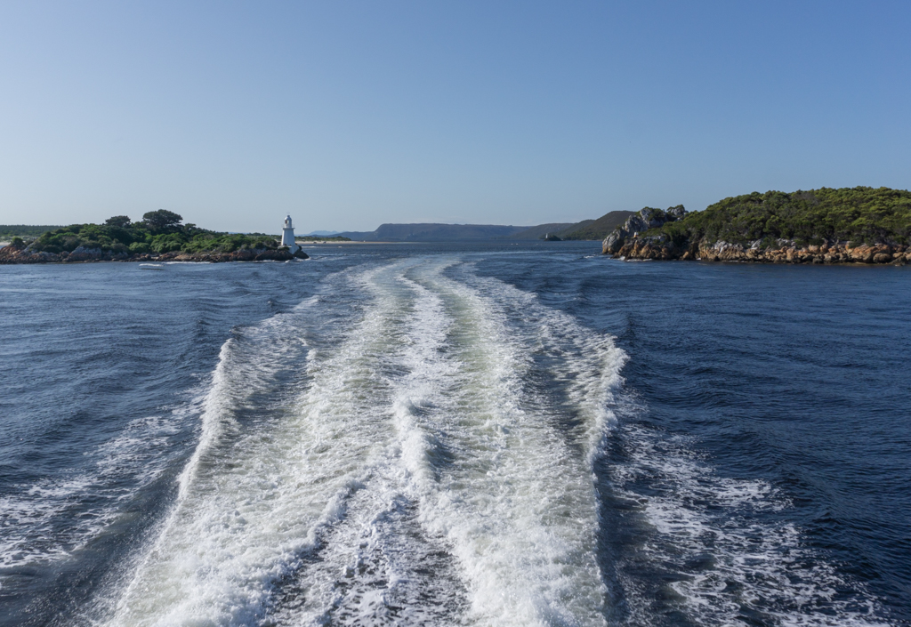 The Gates of Hell in Macquarie Harbour
