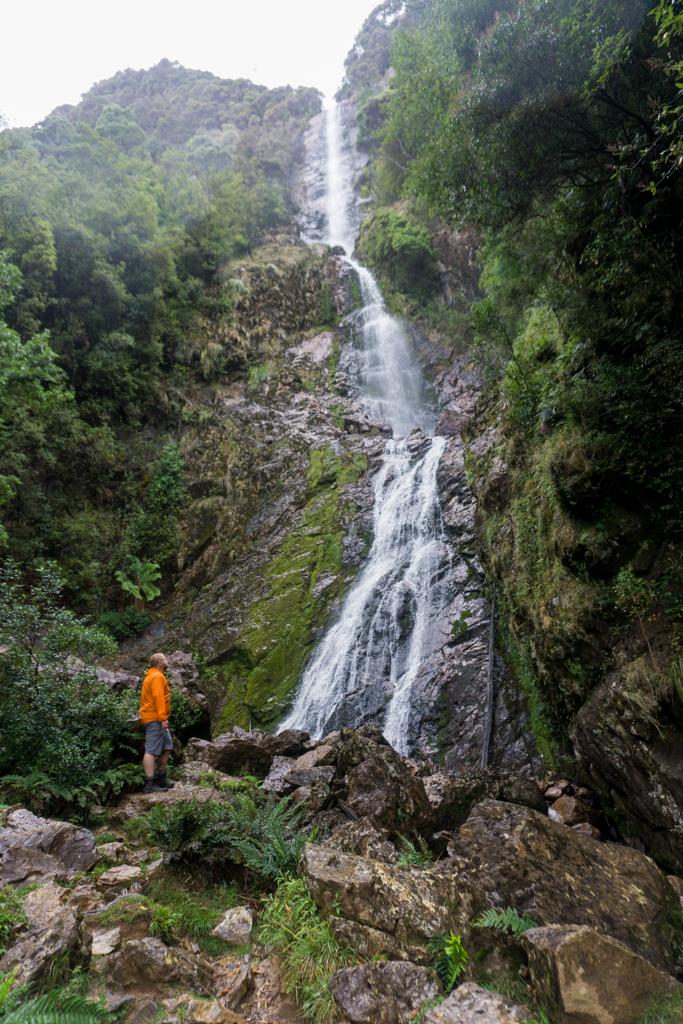 Montezuma Falls in Roseberry, Tasmania