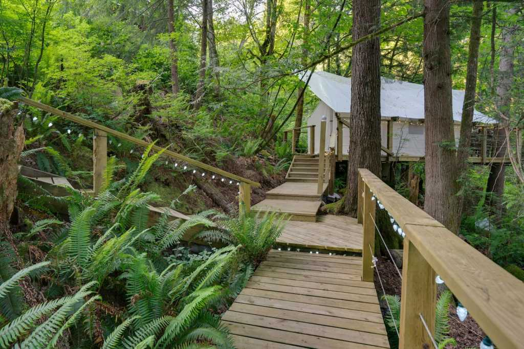Golden Ears Glamping near Vancouver