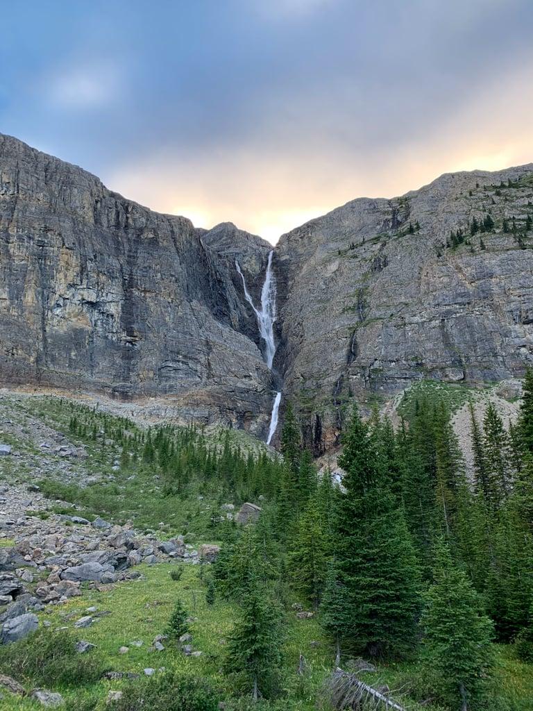 Helmet Falls in Kootenay National Park