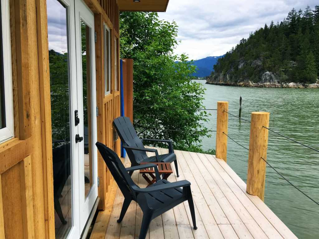 Waterfront Tiny House Cabin in Squamish