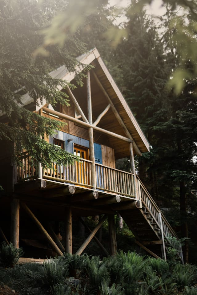 Wildwood Cabins on Bowen Island - one of the best cabins near Vancouver