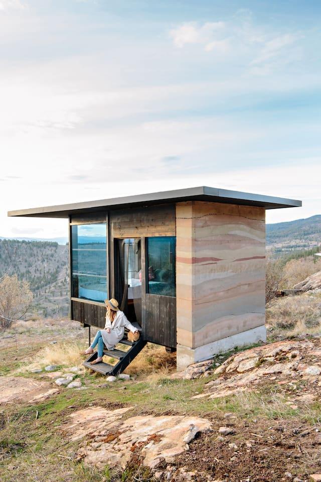 Rumspringa Tiny Cabin near Penticton, BC