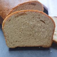 Whole Wheat Bread - Eggless