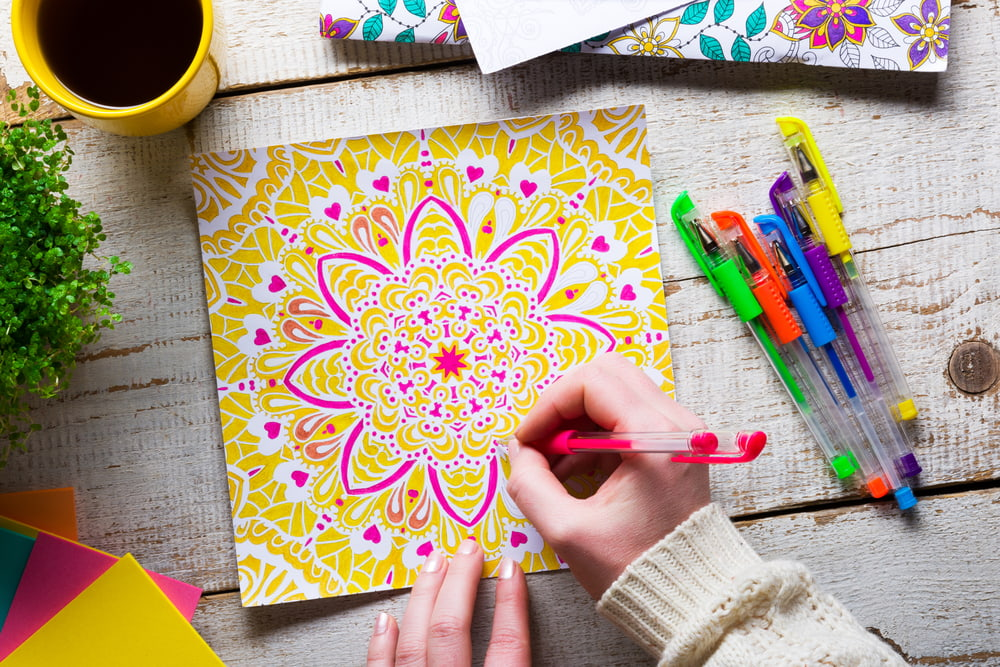 Can Mindful Colouring Help Calm Anxious Kids