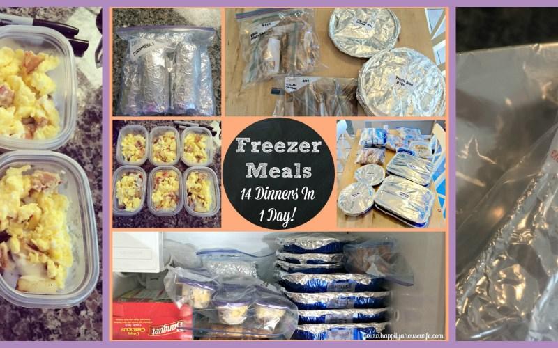 FREEZER MEALS   PREP AND RECIPES