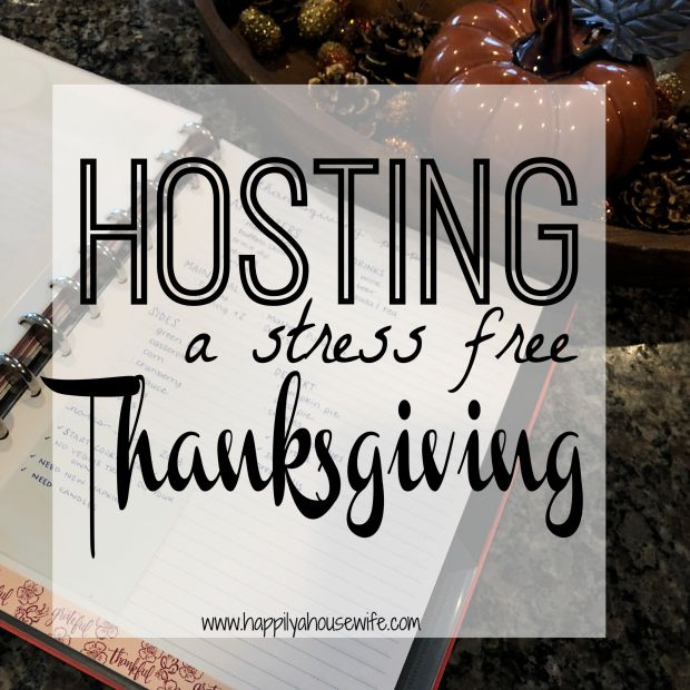 hosting a holiday