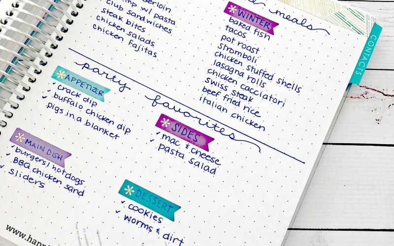 Erin Condren Planner Notes Pages