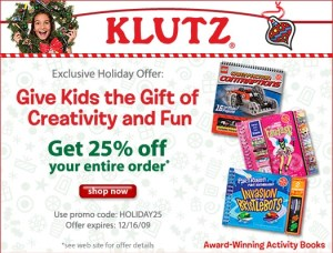Klutz_CouponCode_Image