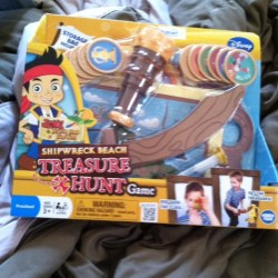Neverland Pirates Shipwreck Beach Treasure Hunt Game