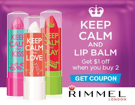 Keep Calm and Lip Balm at Walmart Coupon @RimmelLondonUS #KeepCalmLipBalm #ad