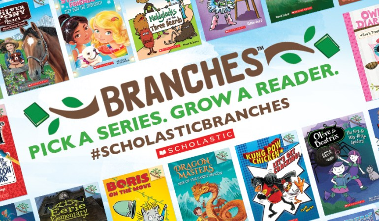 Scholastic Branches – Grow a Reader Giveaway #ScholasticBranches #ad