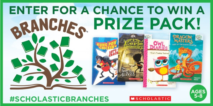 Scholastic Branches Giveaway