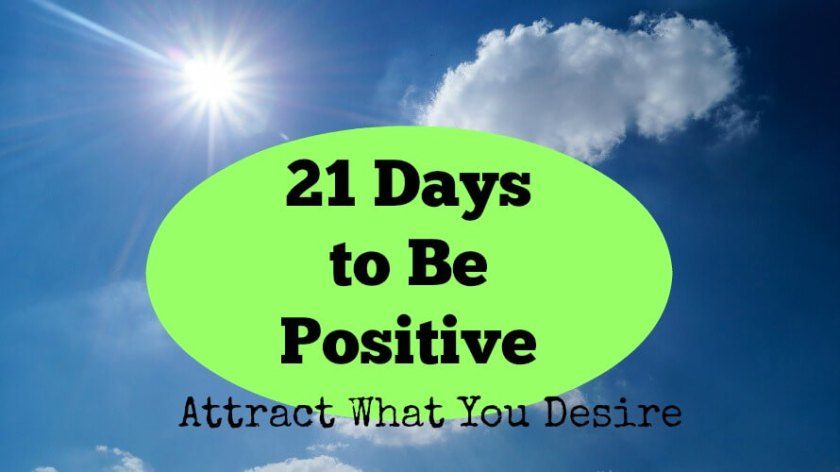 21 Days to Be Positive Step 2