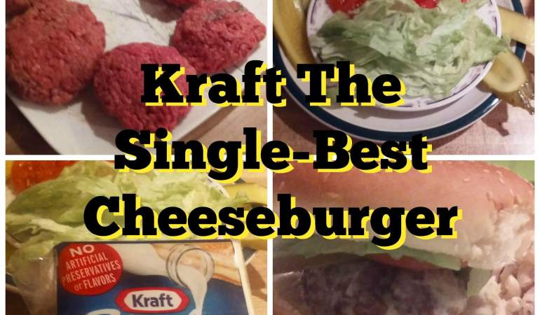 Kraft Recipe: The Single-Best Cheeseburger #CookingUpHolidays #ad
