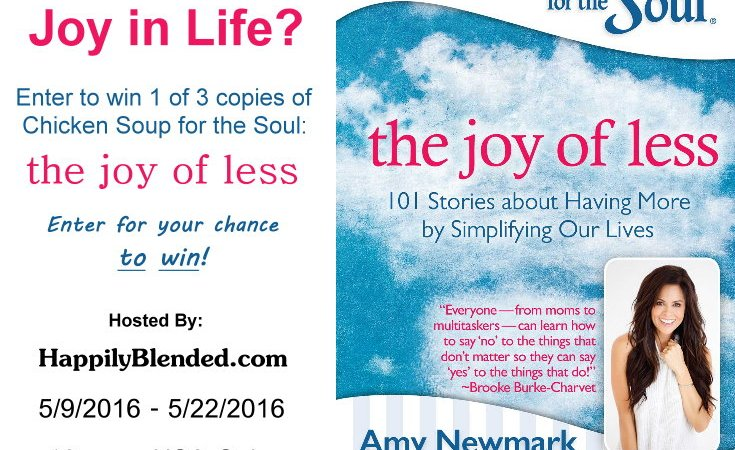 How to Experience More Joy in Life – Plus a Giveaway