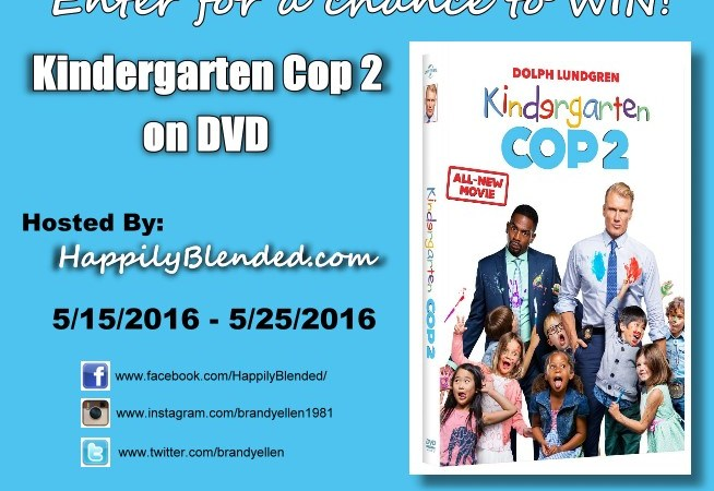 Plan a Family Movie Night with Kid Movies Kindergarten Cop 2 Giveaway #KinderCop2