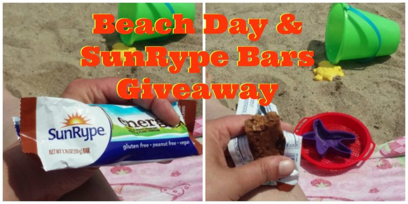 Beach Day and SunRype Bars Giveaway