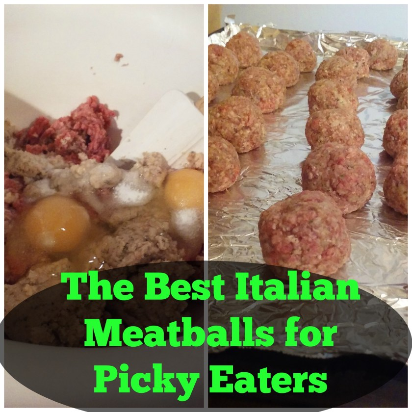 The Best Italian Meatballs for Picky Eaters