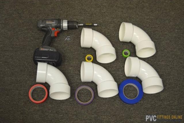 PVC materials and tools