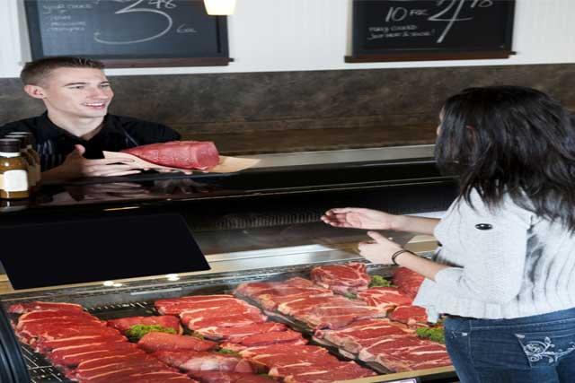 meats freezing food