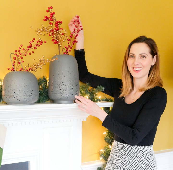 Eva Amurri Martino decorates her home for the Christmas Holiday