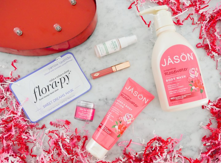 Eva Amurri Martino shares her roundup of monthly beauty products for february with a Valentine's Day theme