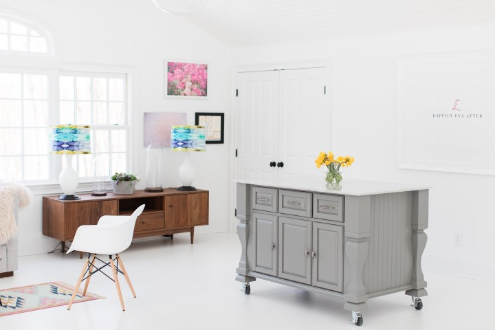 Eva Amurri Martino's studio for lifestyle and motherhood blog Happily Eva After