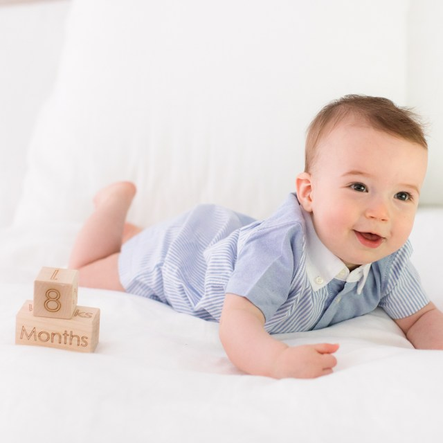 Major Boy is EightMonthsOld today! My handsome little ball ofhellip