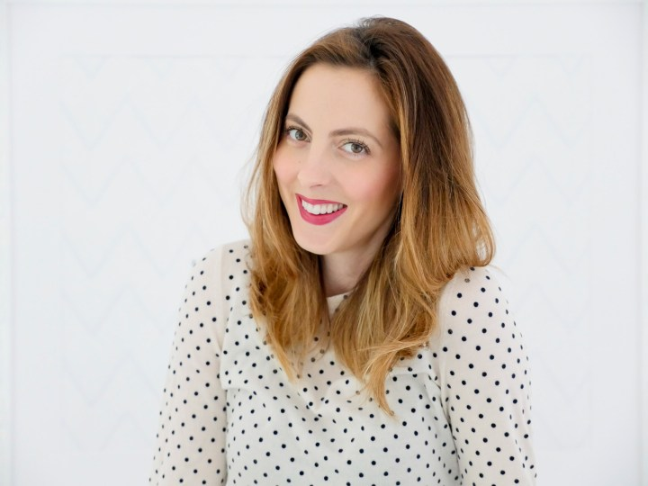 Eva Amurri Martino uses dry shampoo to refresh her two day old blowout