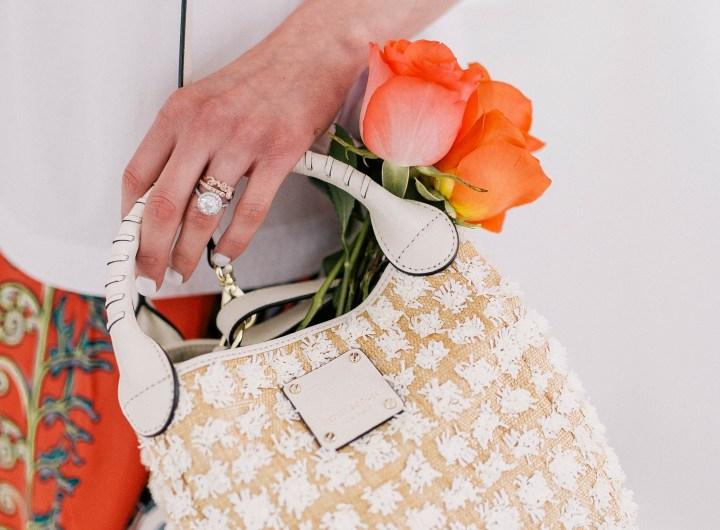 Eva Amurri Martino shares her picks for Raffia Accessories For Spring