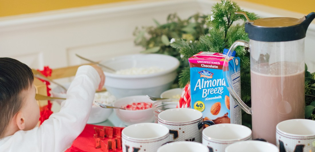 Ava Amurri Martino shares tips on how to prepare a delicious, dairy-free hot cocoa bar!