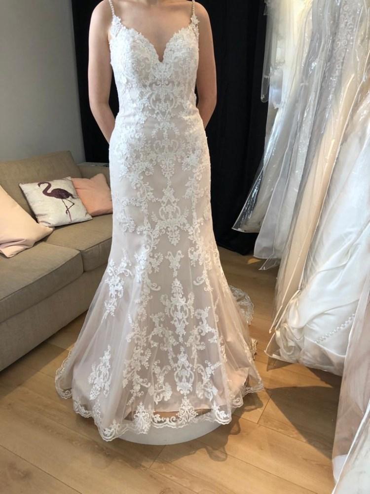 Stella York Lacy Boho Gown (6769) - Size 14