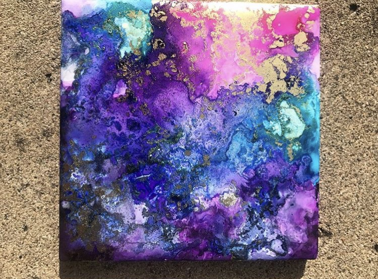Artist Share Their Alcohol Ink Tips – Happily Ever Crafty