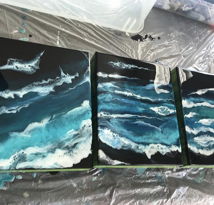 Artists Share Their Tips For Working With Resin – Happily
