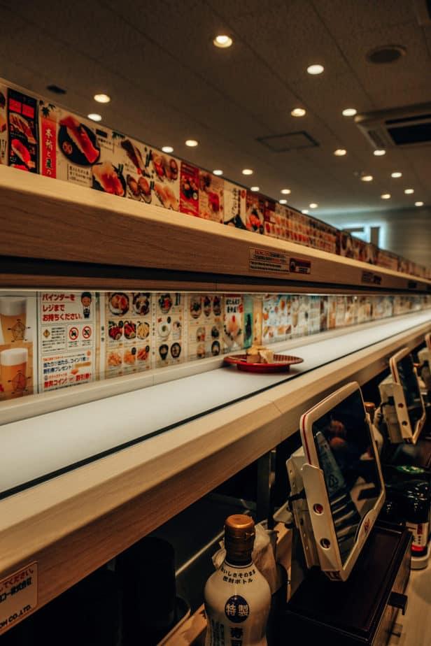 Kaiten Sushi in Japan