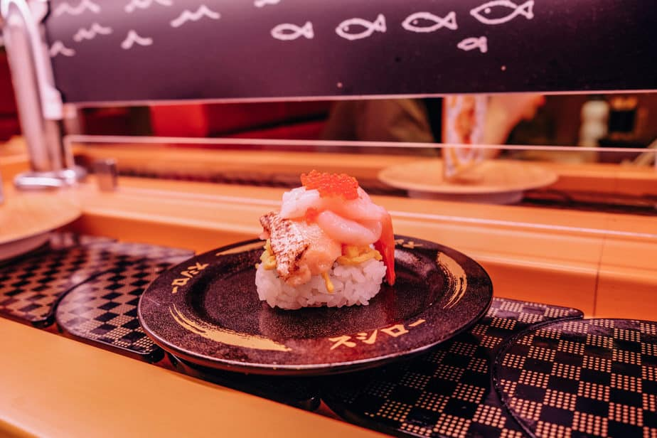 conveyor belt for sushi
