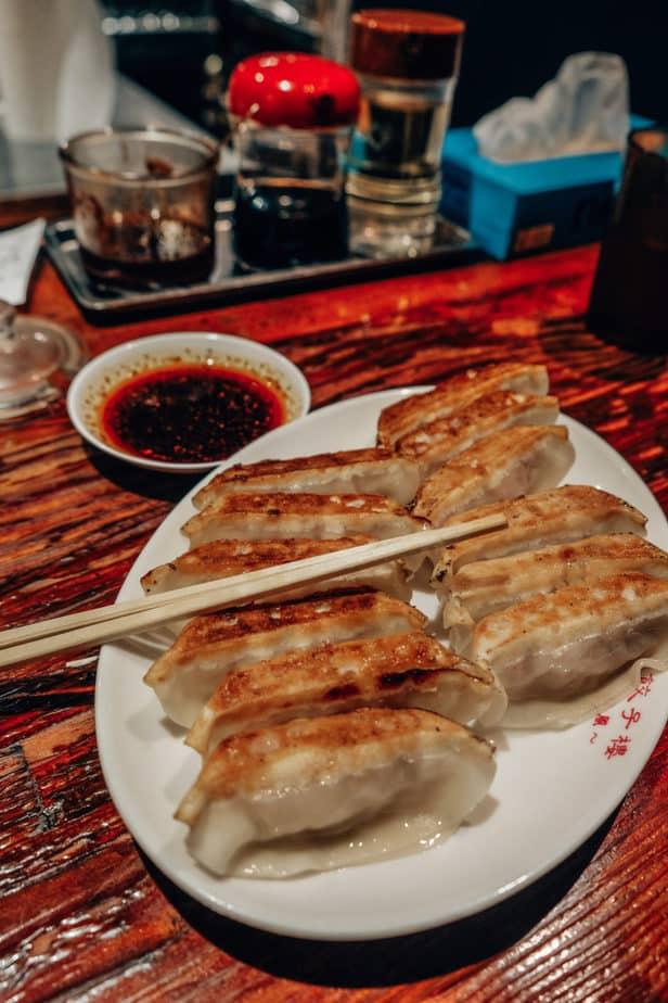 Gyoza food in Japan