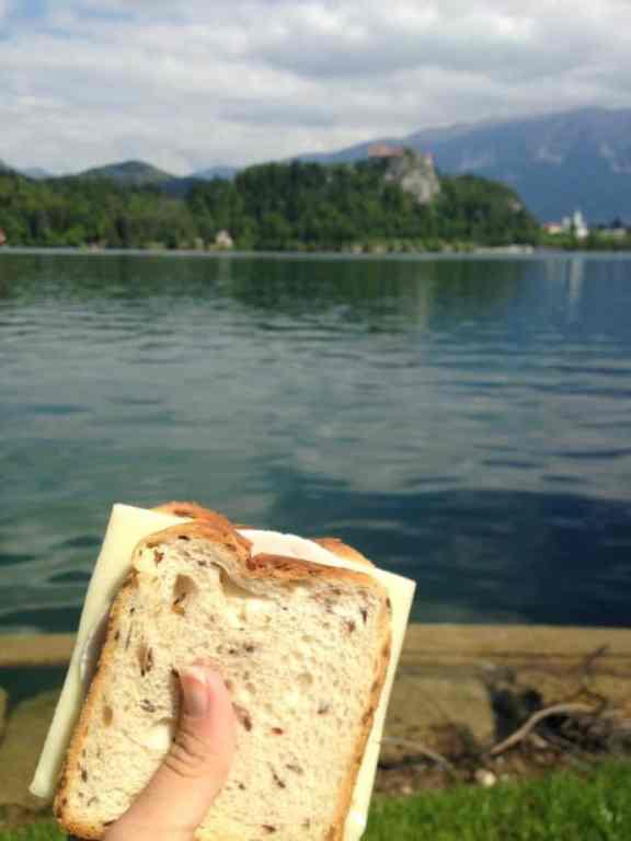 A sandwich in Europe