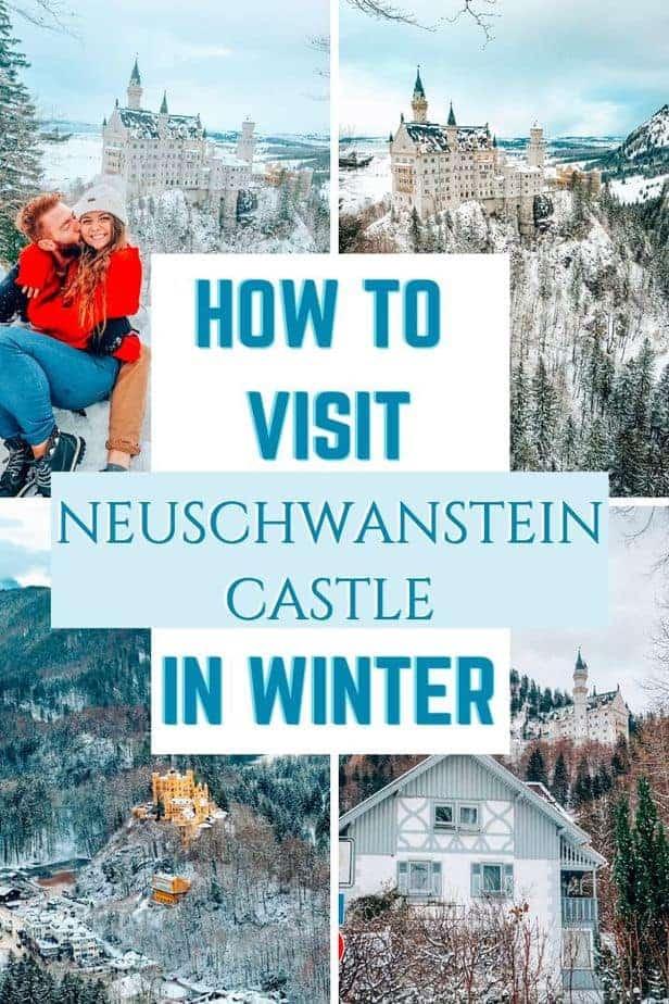 How to Visit Neuschwanstein Castle in Winter