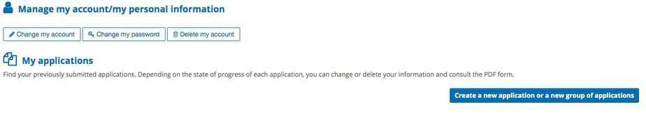 Manage your applications on France Visa Website
