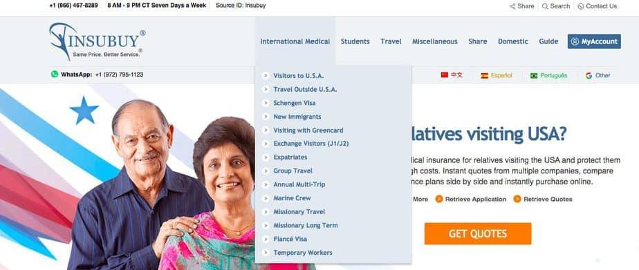 Insubuy Health Insurance Website