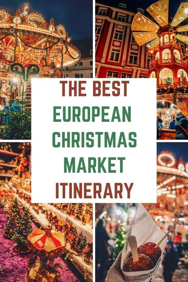 best european christmas market itinerary