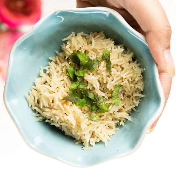 instant pot rice pilaf