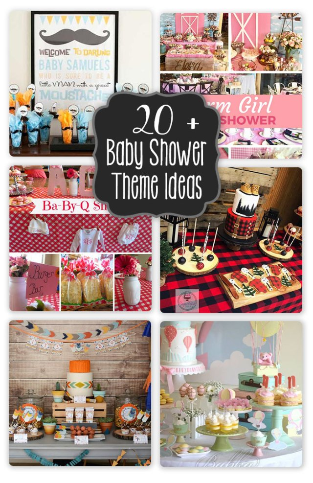 20+ Baby Shower Theme Ideas