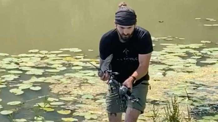 dove drone rescue