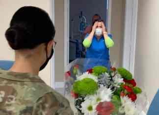 healthcare worker surprise