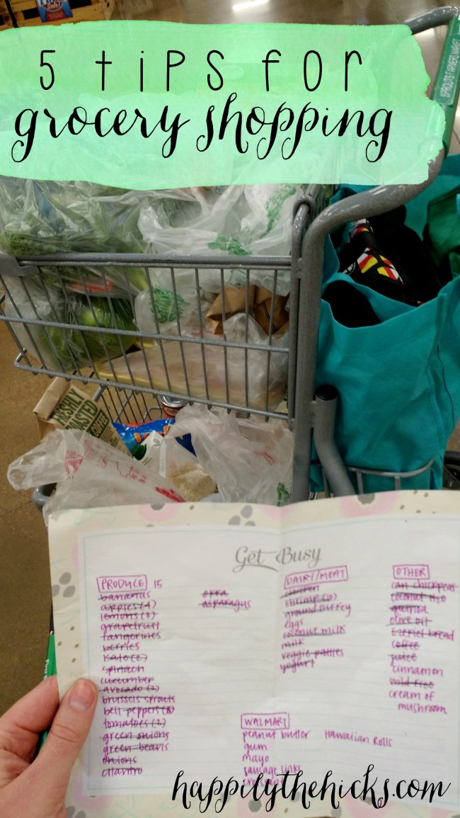 5 Tips for Grocery Shopping2